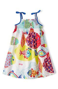 Mini Boden Strappy Sundress (Toddler Girls, Little Girls & Big Girls) available at #Nordstrom
