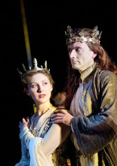 Emma Hamilton and David Tennant in Richard II