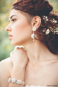 "Edera Jewelry ""Woodland Goddess"" Collection   Wedding Inspirasi"