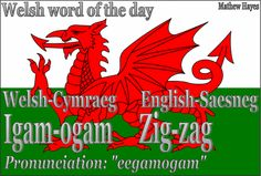 Welsh word of the day: Igam-ogam/Zig-zag
