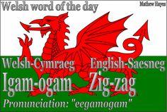 Welsh word of the day: Igam-ogam/Zig-zag