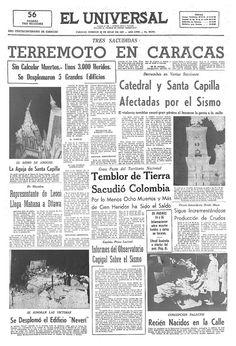 Hace 48 años, un fuerte temblor estremeció la ciudad de Caracas. Fue tan…