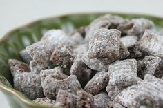 """Muddy buddies.. It may not be the """"muddy"""" that you're used to, but you are definitely going to want to try out this delicious muddy treat this holiday season!"""