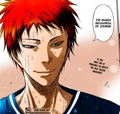 Akashi by Knb. Colored by me.
