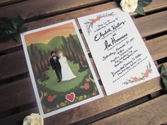 HOM SWEET HOM : Wedding invitation