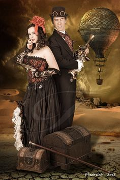 Steampunk images from Editions by Frederick | Calgary professional photography studio