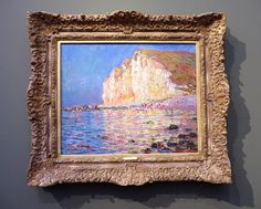 Monet - Low tide at Les Petites Dalles Giverny France, Seascape Paintings, Claude Monet, Some Pictures, Art And Architecture, Impressionism, Modern Art, Museum, Canvas