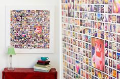 Instagram Canvas Collage Template for Photoshop & InDesign | Design Aglow. Awesome. I need 365 instagram pics!