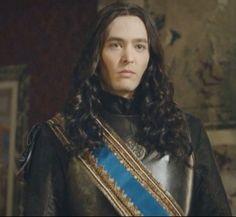Serie Versailles (2015- ) canal+ . Alexander Vlahos as Monsieur. Phillipe duc de Orleans, brother of Louis IV, the King Sun