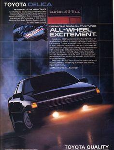 1988 Toyota Celica All-Trac