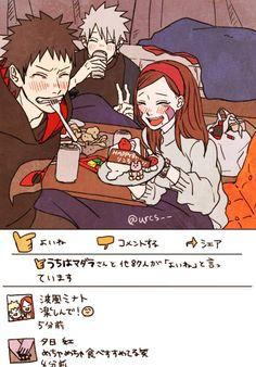 Kakashi And Obito, Kurama Naruto, Naruto Shippuden, Team Minato, Naruto Teams, Team 7, Naruhina, Fight Me Meme, Naruto Family