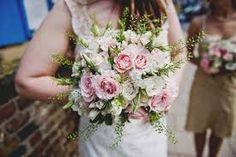 Image result for vintage pink green wedding bouquets