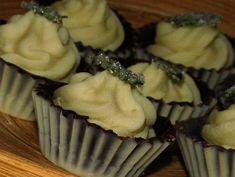 Čokoládové košíčky s mátovým krémem :: FOODstyle