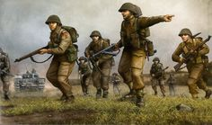 British Infantry in Normandy