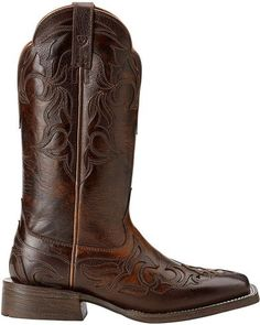 Ariat Cassidy Wingtip Cowgirl Boots - Square Toe | Sheplers