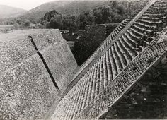 The Great Pyramid in Tenayuca, Mexico, ca. 1940, Josef Albers. © 2017 The Josef and Anni Albers Foundation / Artists Rights Society (ARS), New York