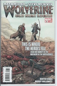 Marvel: Wolverine #67 (Old Man Logan: Mark Millar, Steve McNiven) VF