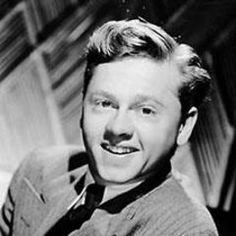 Mickey Rooney...had a huge crush on him when I watched his old classic movies...and loved him more in the movies he made much later...he was a wonderful actor in all the genre's...comedy and drama alike...what a roller coaster of a life he led...he definitely squeezed out every last bit...