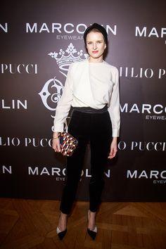 Фиона Скэрри / Званый ужин Emilio Pucci в Париже