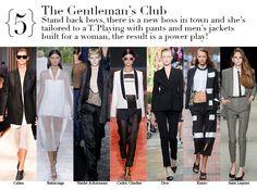 Paris Spring 2014 Top Trends - The Gentleman's Club