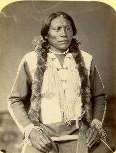Wa-ne-ro - Leader, Ute Nation - 1868