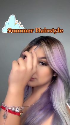 Cute Hairstyles For Teens, Easy Hairstyles For Long Hair, Summer Hairstyles, Girl Hairstyles, Medium Hair Styles, Short Hair Styles, Gorgeous Hair Color, Long Hair Video, Hair Styler