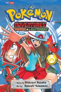 Pokemon Adventures Graphic Novel 25 (Firered & Leafgreen)