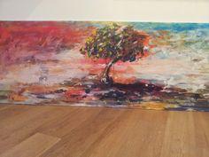 """Through the Storm, diptych"", 2014. POA"