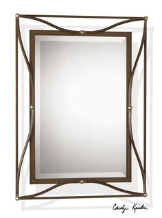 $99 - Uttermost Thierry Bronze Mirror