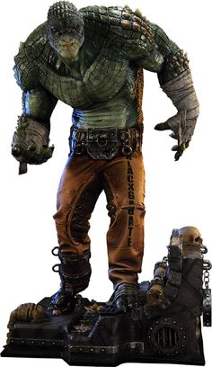 Batman: Arkham Origins Killer Croc Statue