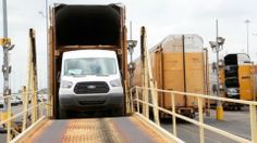 Ford Develops Innovative Way to Transport Transit Van to North American Dealers