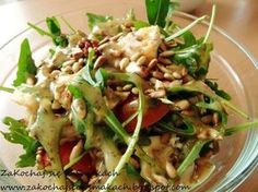 Salad Recipes, Healthy Recipes, Salad Dishes, Sprout Recipes, Coleslaw, Pasta Salad, Healthy Eating, Healthy Food, Good Food