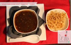 #Spicy Man-chow #Soup @DevillaRestro #Chinese #Tasty #Hot
