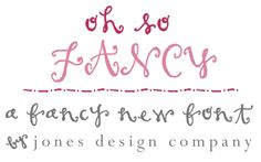how to create fake calligraphy | Jones Design Company | stylish custom designs for life