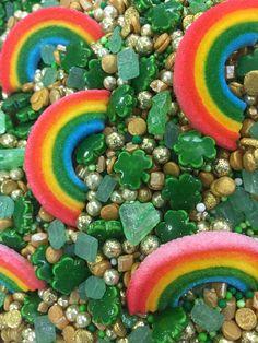 Leprechauns Luck Sprinkle Mix Sweet Treat Stencils