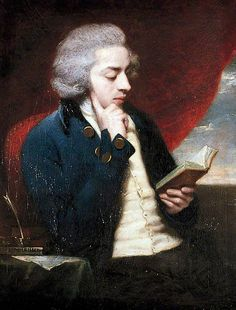 Portrait of a Young Gentleman Reading - (possibly William Beckford)' 18th century.