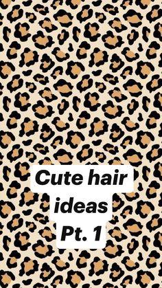 Cute Hairstyles For Teens, Cute Simple Hairstyles, Easy Hairstyles For Long Hair, Up Hairstyles, School Hairstyles, Hair Up Styles, Medium Hair Styles, Natural Hair Styles, Aesthetic Hair