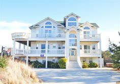 Twiddy+Outer+Banks+Vacation+Home+-+Garbo's+Getaway+-+Corolla+-+Semi-Oceanfront+-+8+Bedrooms