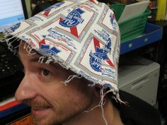 PBR hat. by Archie McPhee Seattle, via Flickr