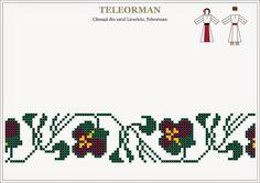 Embroidery Sampler, Folk Embroidery, Embroidery Patterns, Cross Stitch Borders, Cross Stitch Patterns, Knitting Needles, Hama Beads, Beading Patterns, Pixel Art