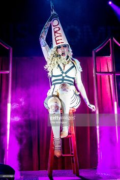 Maria Brink of In This Moment performs on stage during a sold out show at KOKO on March 2015 in London, United Kingdom. Lacey Sturm, Maria Brink, Lzzy Hale, Amy Lee, Taylor Momsen, Rock Queen, Riot Grrrl, Fashion Forecasting, Goth Aesthetic
