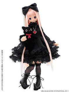 Azone Pureneemo ExCute Majokko Chiika Little Witch of The Heart 1/6 Fashion Doll
