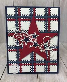 Fall Cards, Holiday Cards, Christmas Cards, Happy 4 Of July, Fourth Of July, Star Cards, 3d Cards, Folded Cards, Paper Crafts Magazine