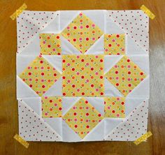 On A Whim quilt block