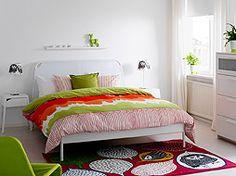 Colorea tu dormitorio con tejidos