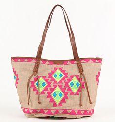 Cute Beach Bag Colored Denim Pacsun Billabong Boho Fashion Bags