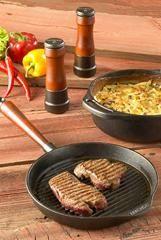 Poêle grill Skeppshult Grill Pan, Grilling, Dining, Meat, Vegetables, Cooking, Danger, Kitchen, Bio