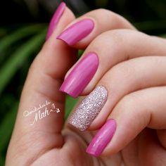 Queridinhos da Mah: Queridinho da Semana - Rosa com Gliter ♥