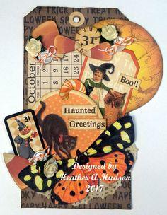 Vintage Halloween Butterfly Calendar Candy Corn Pumpkin Moon | Etsy Halloween Paper Crafts, Halloween Tags, Holidays Halloween, Vintage Halloween, Halloween Scrapbook, Halloween Party, Pumpkin Moon, Image Collage, Collage Sheet