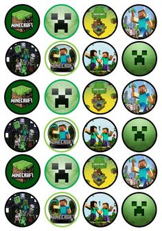 http://www.cianscupcaketoppers.co.uk/minecraft-edible-premium-wafer-paper-cupcake-toppers-1173-p.asp